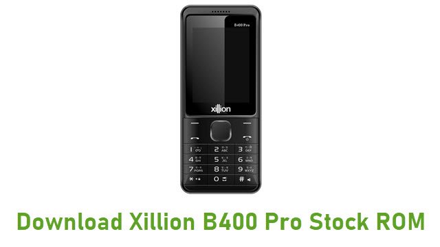 Download Xillion B400 Pro Stock ROM