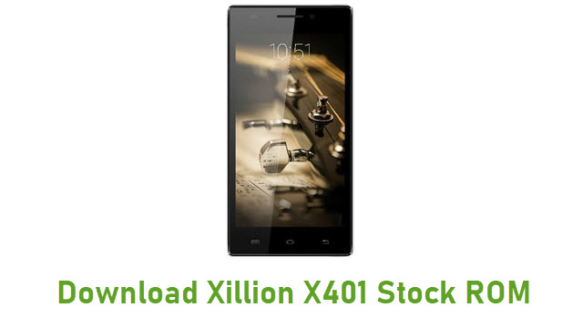 Download Xillion X401 Stock ROM