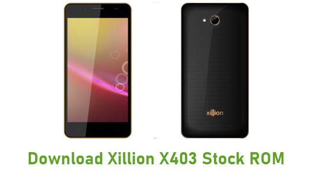 Download Xillion X403 Stock ROM