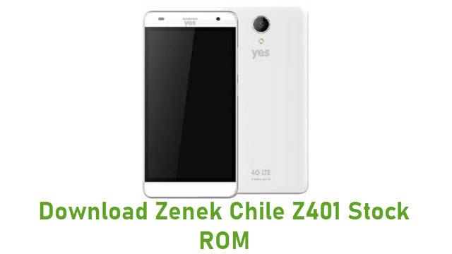 Download Zenek Chile Z401 Stock ROM
