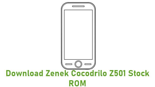 Download Zenek K456 Stock ROM