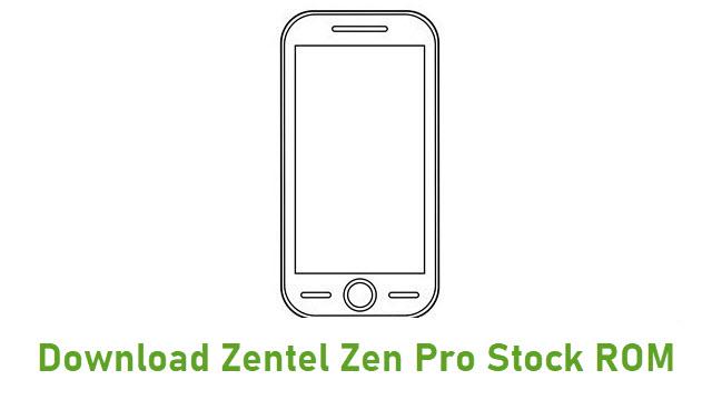Download Zentel Zen Pro Stock ROM