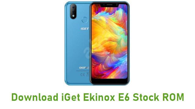 Download iGet Ekinox E6 Stock ROM