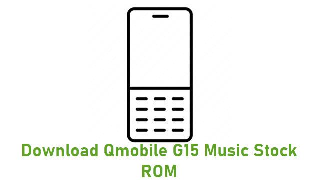 Download Qmobile G15 Music Stock ROM