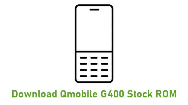 Download Qmobile G400 Stock ROM