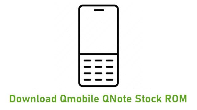 Download Qmobile QNote Stock ROM