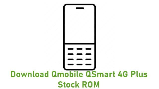 Download Qmobile QSmart 4G Plus Stock ROM