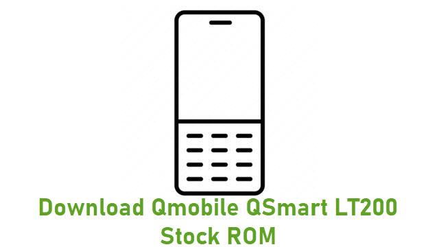 Download Qmobile QSmart LT200 Stock ROM