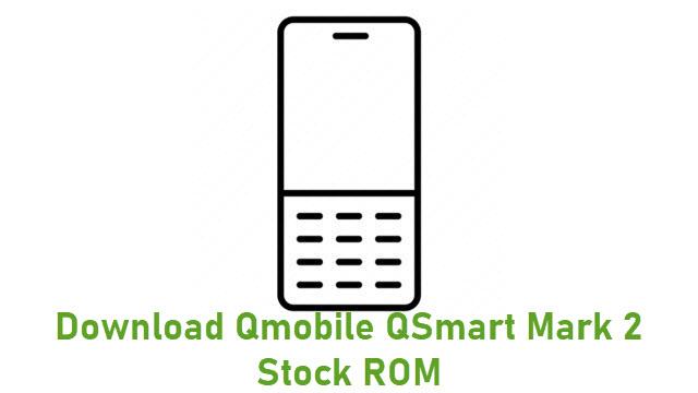 Download Qmobile QSmart Mark 2 Stock ROM