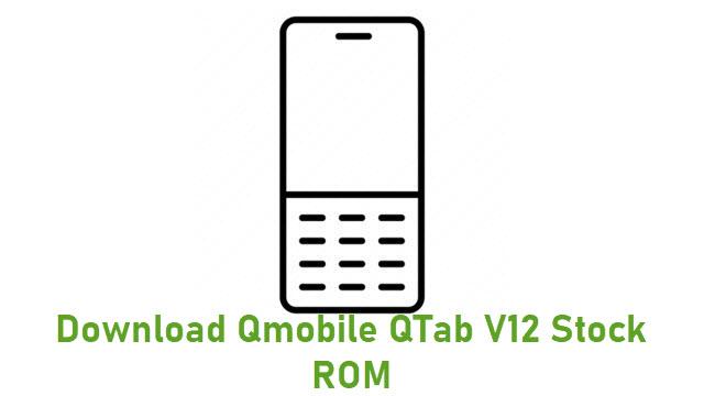 Download Qmobile QTab V12 Stock ROM