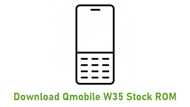 Download Qmobile W35 Stock ROM