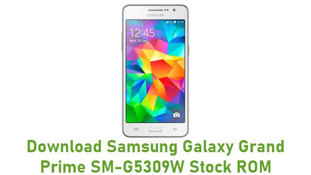 Download Samsung Galaxy Grand Prime SM-G5309W Stock ROM
