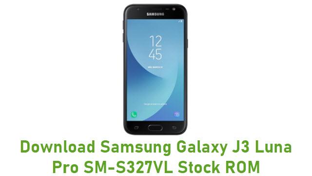 Download Samsung Galaxy J3 Luna Pro SM-S327VL Stock ROM