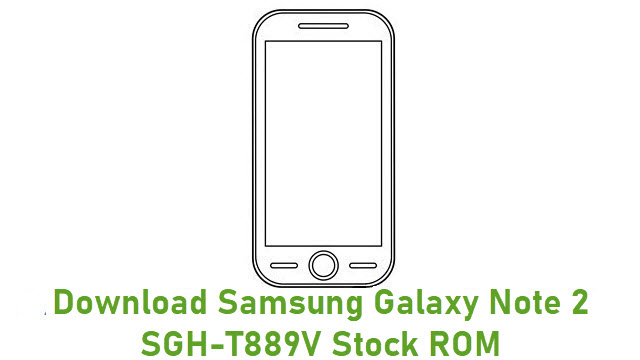 Download Samsung Galaxy Note 2 SGH-T889V Stock ROM