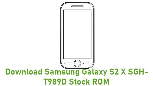 Download Samsung Galaxy S2 X SGH-T989D Stock ROM