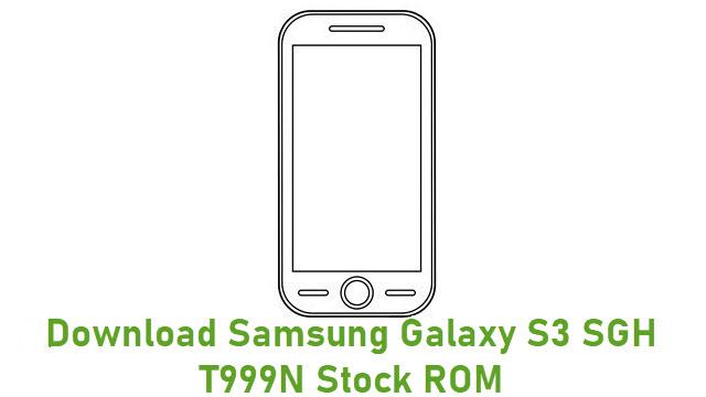 Download Samsung Galaxy S3 SGH-T999N Stock ROM