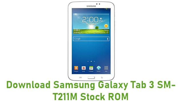 Download Samsung Galaxy Tab 3 SM-T211M Stock ROM