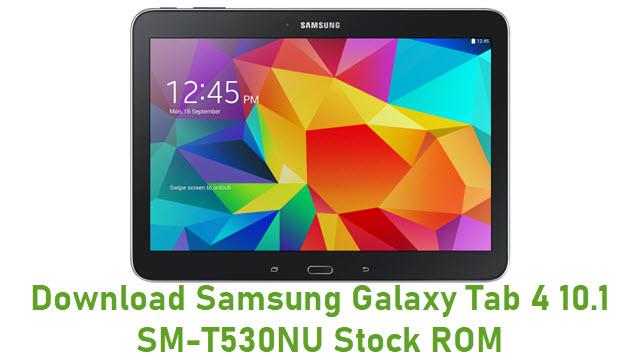 Download Samsung Galaxy Tab 4 10.1 SM-T530NU Stock ROM