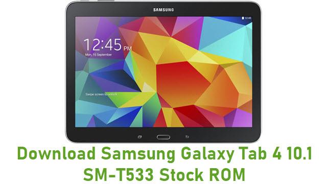 Download Samsung Galaxy Tab 4 10.1 SM-T533 Stock ROM
