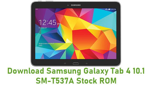 Download Samsung Galaxy Tab 4 10.1 SM-T537A Stock ROM
