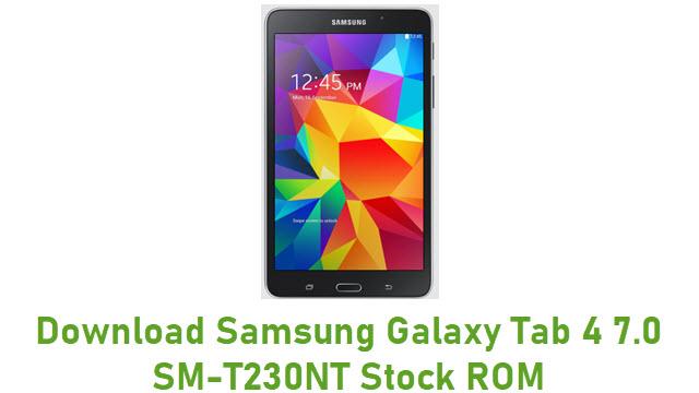 Download Samsung Galaxy Tab 4 7.0 SM-T230NT Stock ROM