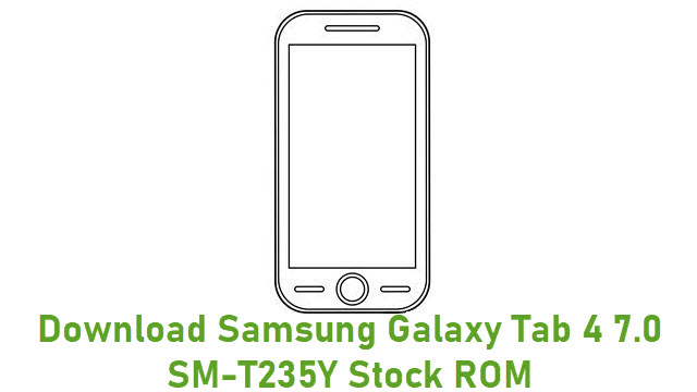 Download Samsung Galaxy Tab 4 7.0 SM-T235Y Stock ROM