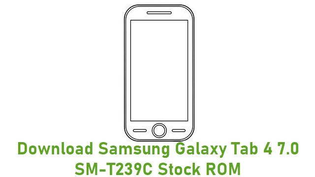 Download Samsung Galaxy Tab 4 7.0 SM-T239C Stock ROM