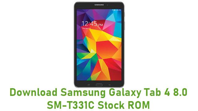 Download Samsung Galaxy Tab 4 8.0 SM-T331C Stock ROM