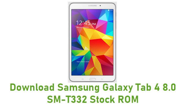 Download Samsung Galaxy Tab 4 8.0 SM-T332 Stock ROM