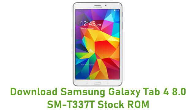 Download Samsung Galaxy Tab 4 8.0 SM-T337T Stock ROM