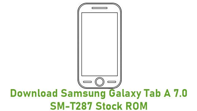 Download Samsung Galaxy Tab A 7.0 SM-T287 Stock ROM