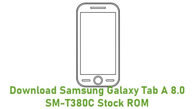 Download Samsung Galaxy Tab A 8.0 SM-T380C Stock ROM