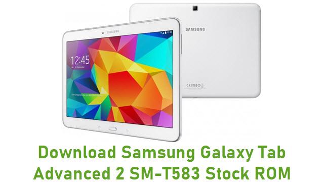Download Samsung Galaxy Tab Advanced 2 SM-T583 Stock ROM
