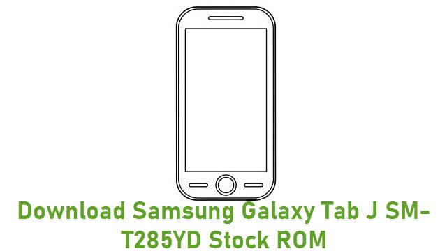 Download Samsung Galaxy Tab J SM-T285YD Stock ROM