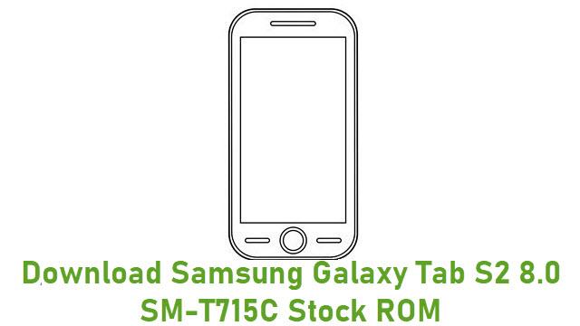 Download Samsung Galaxy Tab S2 8.0 SM-T715C Stock ROM