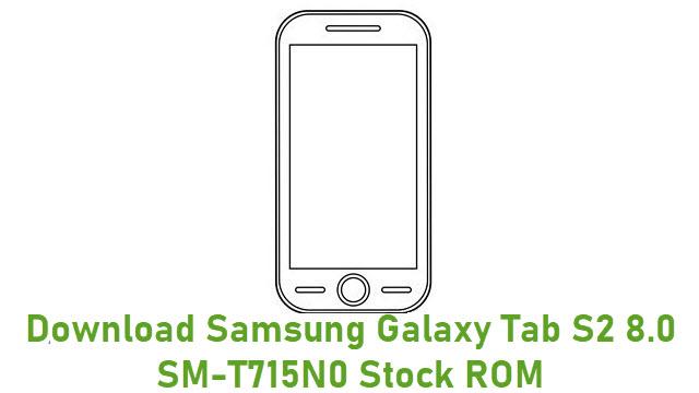 Download Samsung Galaxy Tab S2 8.0 SM-T715N0 Stock ROM