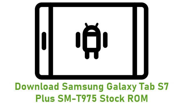 Download Samsung Galaxy Tab S7 Plus SM-T975 Stock ROM