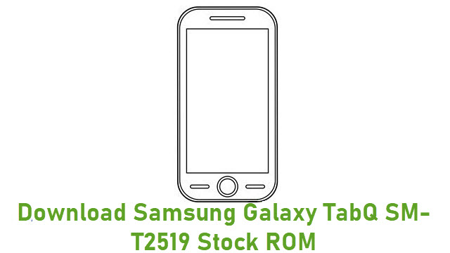 Download Samsung Galaxy TabQ SM-T2519 Stock ROM