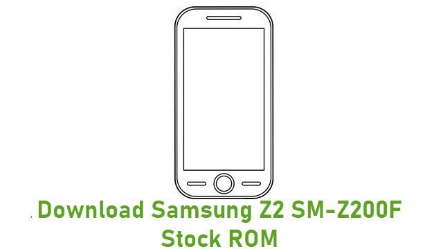 Download Samsung Z2 SM-Z200F Stock ROM