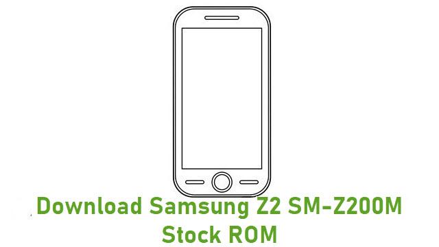 Download Samsung Z2 SM-Z200M Stock ROM