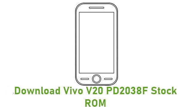 Download Vivo V20 PD2038F Stock ROM