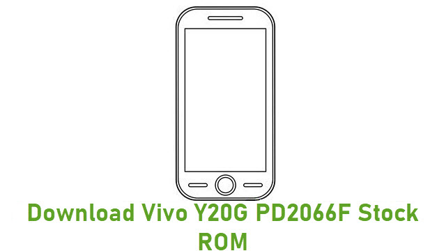 Download Vivo Y20G PD2066F Stock ROM