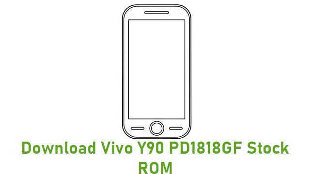 Download Vivo Y90 PD1818GF Stock ROM
