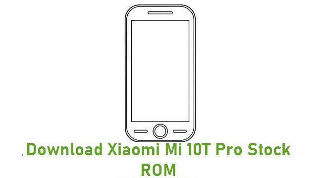 Download Xiaomi Mi 10T Pro Stock ROM