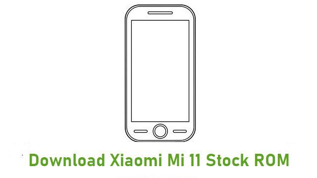 Download Xiaomi Mi 11 Stock ROM