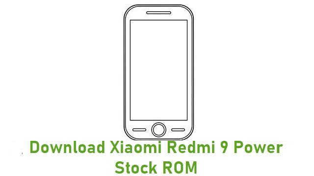 Download Xiaomi Redmi 9 Power Stock ROM