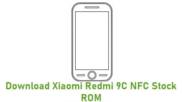 Download Xiaomi Redmi 9C NFC Stock ROM