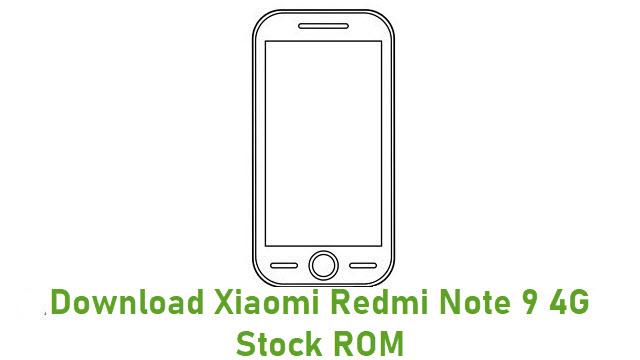 Download Xiaomi Redmi Note 9 4G Stock ROM