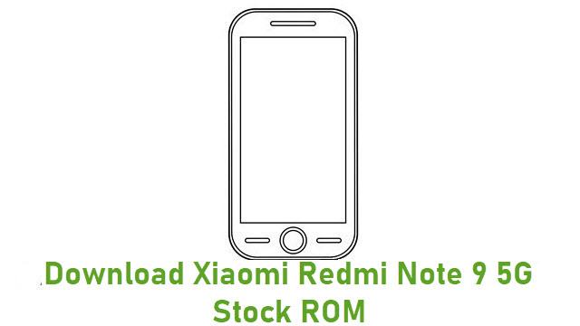 Download Xiaomi Redmi Note 9 5G Stock ROM