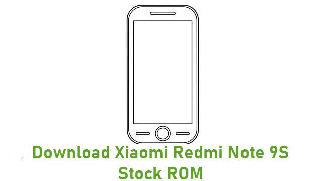 Download Xiaomi Redmi Note 9S Stock ROM